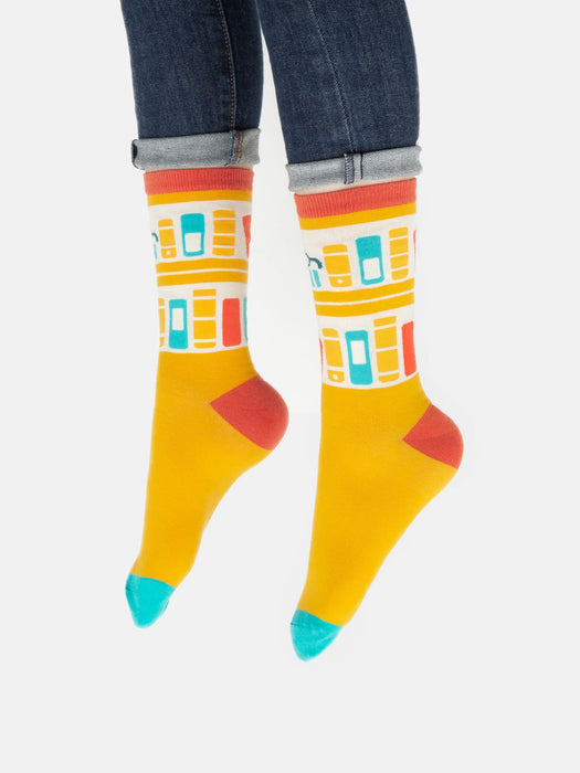 Bookshelf socks