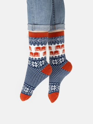 Winter Reading socks