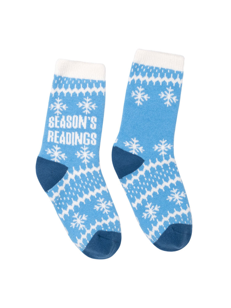 Season's Readings cozy socks