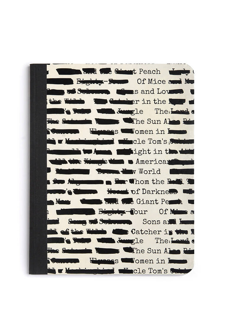 Banned Books notebook