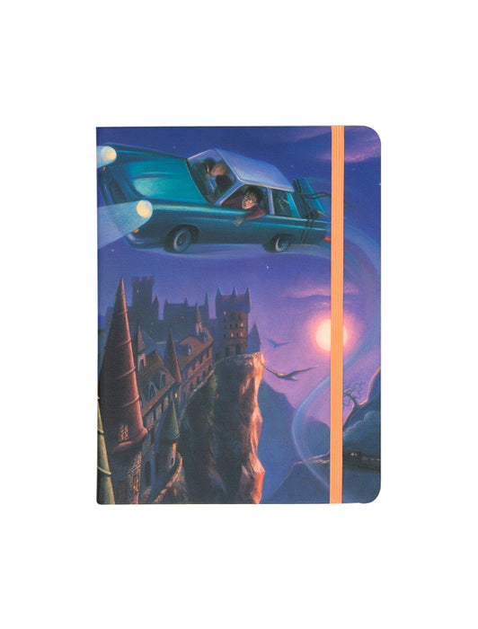 Flying Car Harry Potter journal