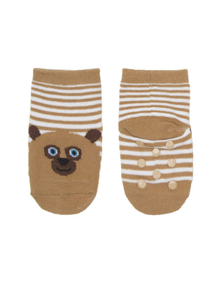World of Eric Carle Brown Bear, Brown Bear, What Do You See? Baby/Toddler Sock 4-pack