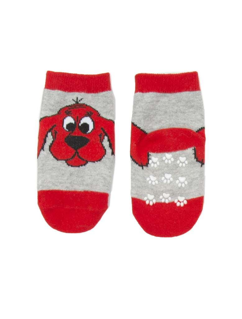 Clifford the Big Red Dog Baby Toddler Sock 4 pack – Out of