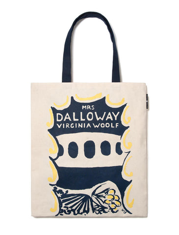 Virginia Woolf tote (To the Lighthouse + Mrs. Dalloway)