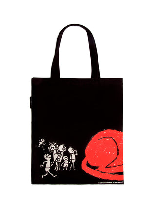 Clifford the Big Red Dog tote bag