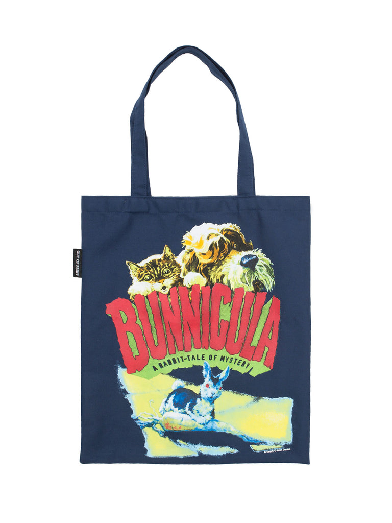 Penguin Book Cover Tote Bag ~ Bunnicula tote bag out of print