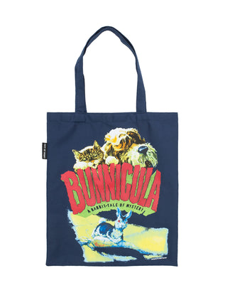 Bunnicula book cover tote bag - front