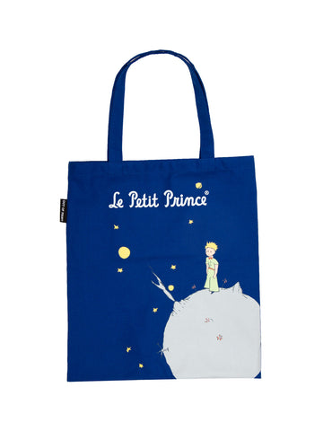 The Little Prince tote bag (blue)