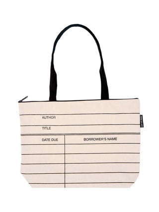 Library Card Market tote bag