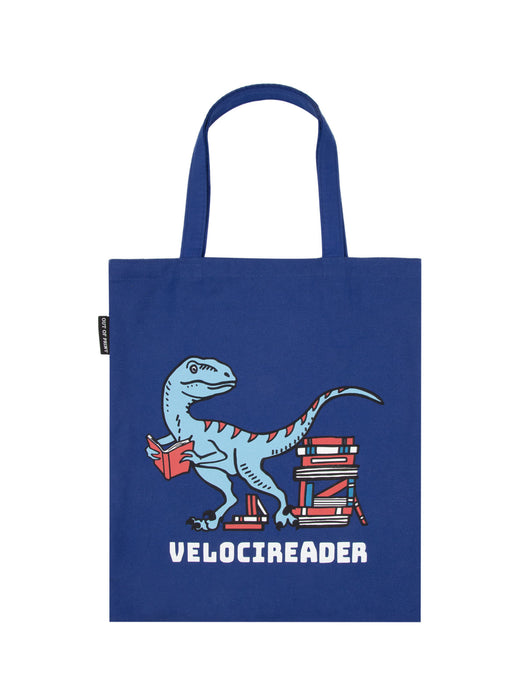Velocireader tote bag