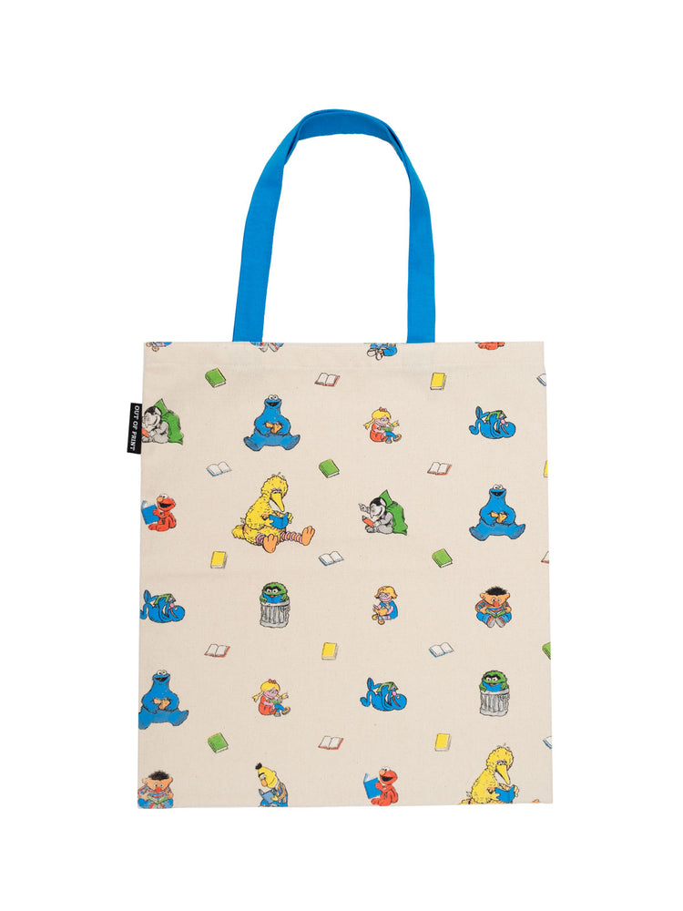 Sesame Street Readers tote bag