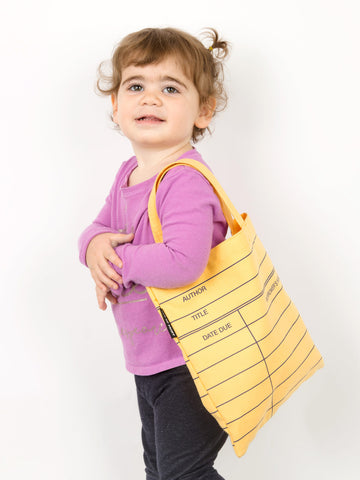Library Card kids tote bag