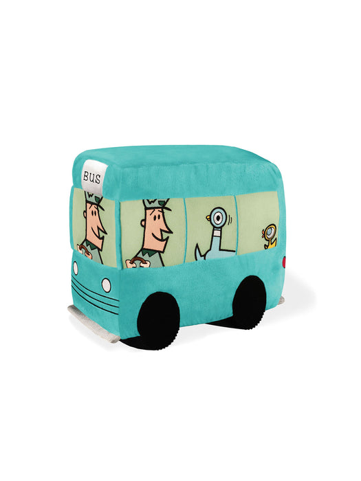 Bus (from Don't Let the Pigeon Drive the Bus) soft toy