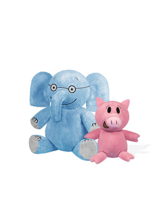 Elephant & Piggie soft toy pair