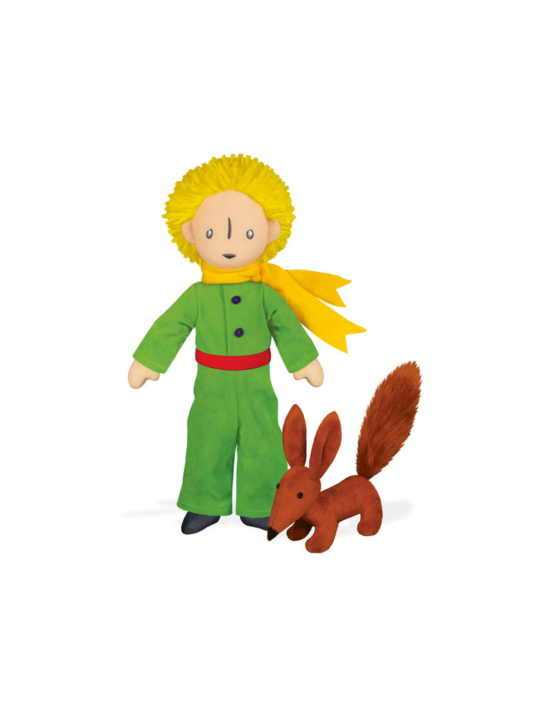 The Little Prince & Fox soft toy pair