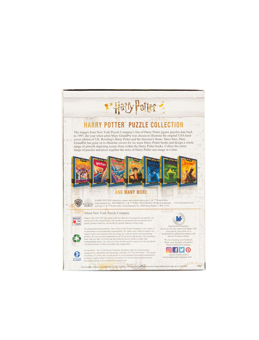 Harry Potter Book Cover Collage 500 Piece Puzzle