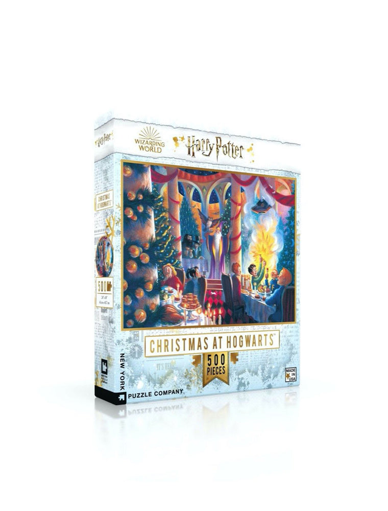 Harry Potter - Christmas at Hogwarts 500 Piece Puzzle