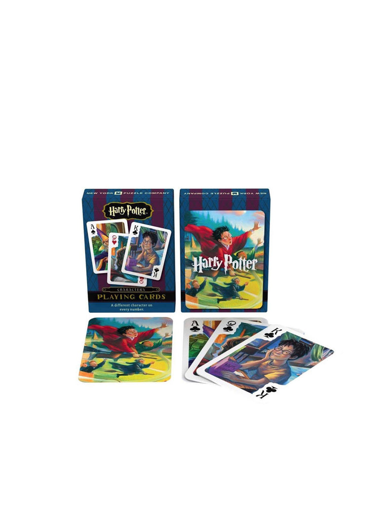 Harry Potter Characters Playing Cards
