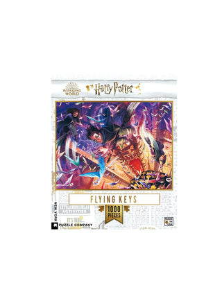Harry Potter - Flying Keys 1000 Piece Puzzle