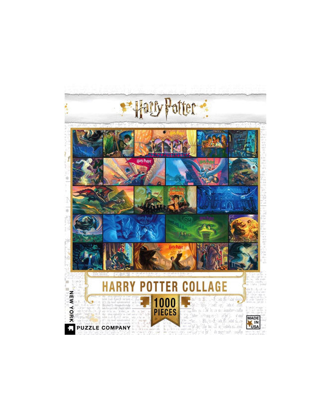Harry Potter Collage 1000 Piece Puzzle