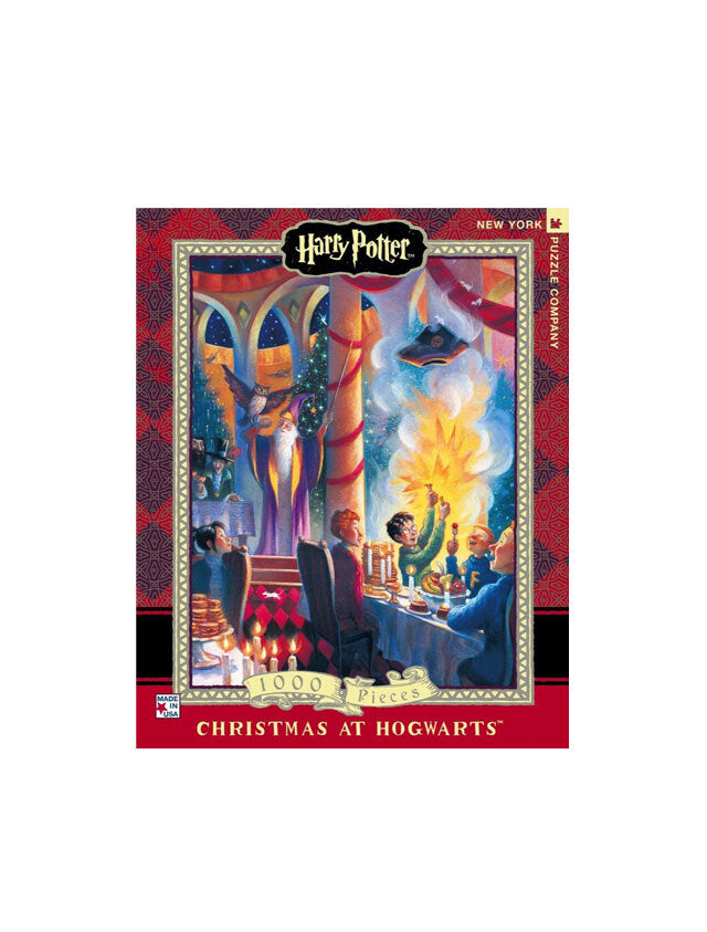 Harry Potter - Christmas at Hogwarts 1000 Piece Puzzle