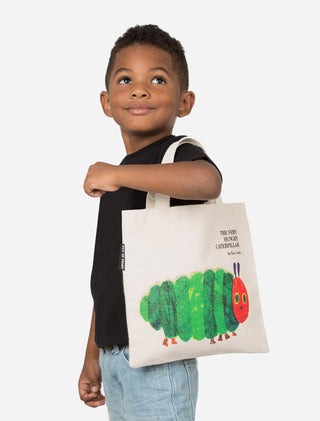 The Very Hungry Caterpillar kids tote bag