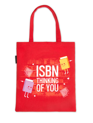 ISBN Thinking of You tote bag