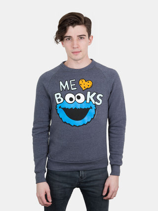 Me Love Books unisex sweatshirt