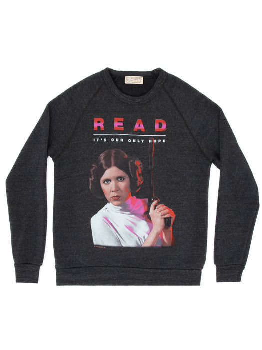 Princess Leia Star Wars READ unisex sweatshirt