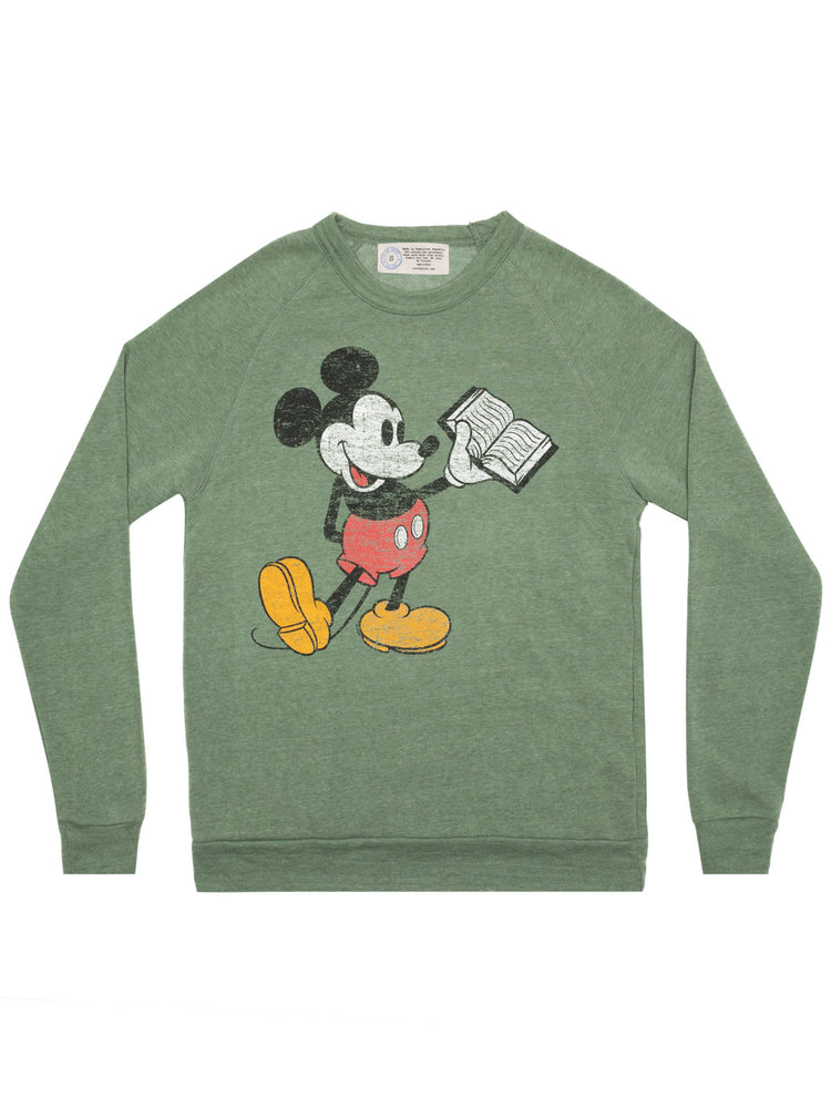 Disney Mickey Mouse Reading unisex sweatshirt