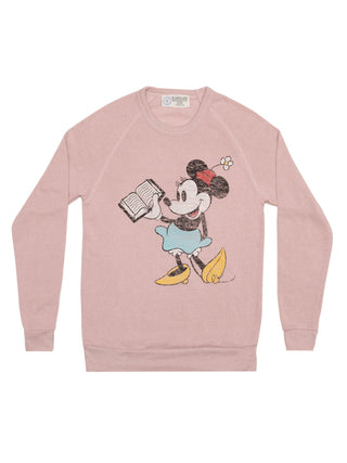 Disney Minnie Mouse Reading unisex sweatshirt
