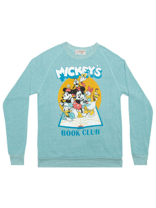 Disney Mickey Mouse Book Club unisex sweatshirt