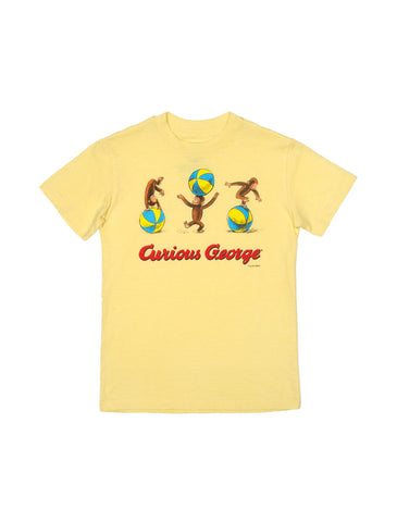 Kids' Curious George - Yellow T-Shirt