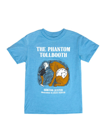 The phantom tollbooth out of print for Books printed on t shirts