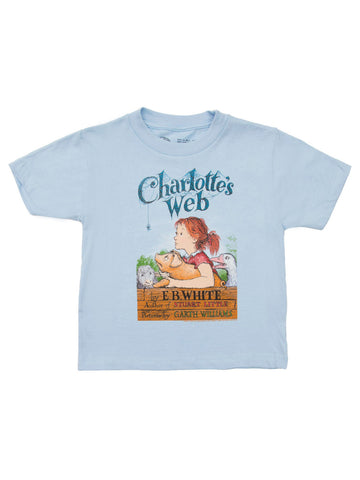 Charlotte's Web kids' book cover t-shirt