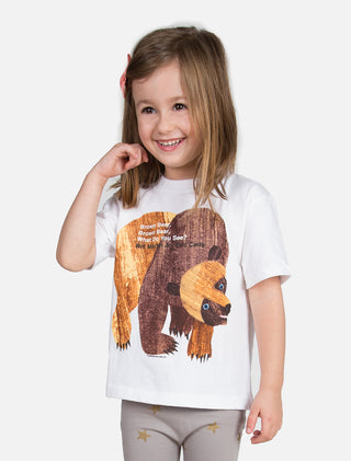 World of Eric Carle Brown Bear, Brown Bear, What Do You See? Kids' Tee (White)
