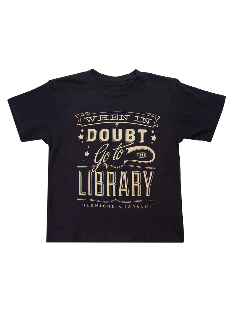 Kids' When in Doubt, Go to the Library T-Shirt