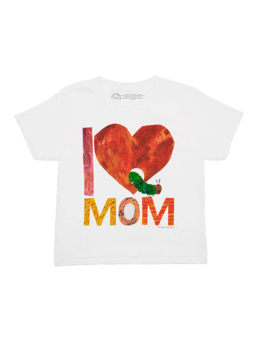 World of Eric Carle I Love Mom with The Very Hungry Caterpillar Kids' Tee