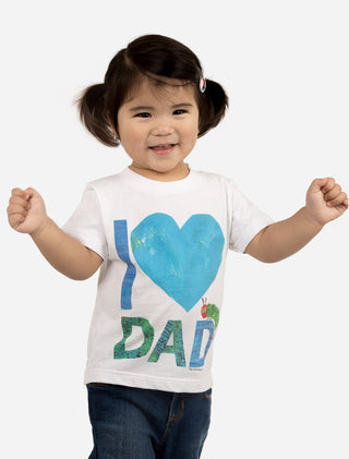 World of Eric Carle I Love Dad with The Very Hungry Caterpillar Kids' Tee
