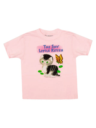 Kids' The Shy Little Kitten T-Shirt