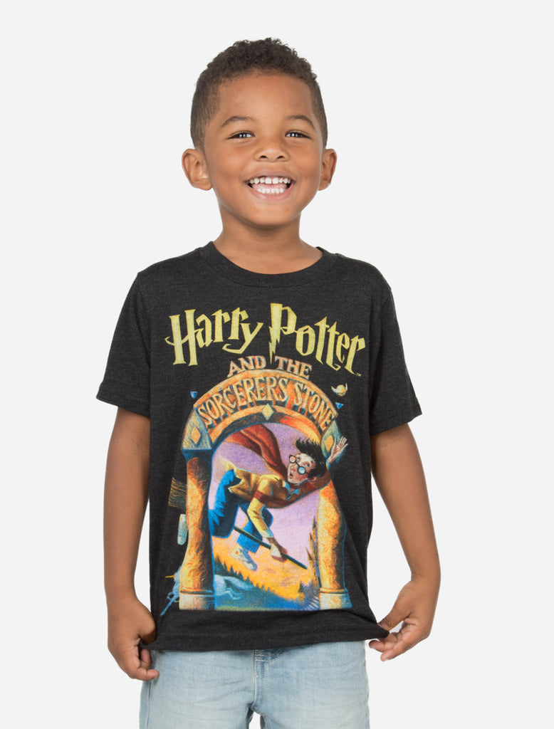 Harry Potter Book Cover Shirt : Harry potter and the sorcerer s stone kids book t shirt