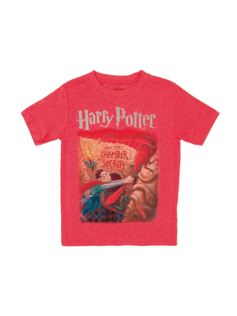 Harry Potter Book Cover Shirt : Harry potter and the chamber of secrets kids book t shirt