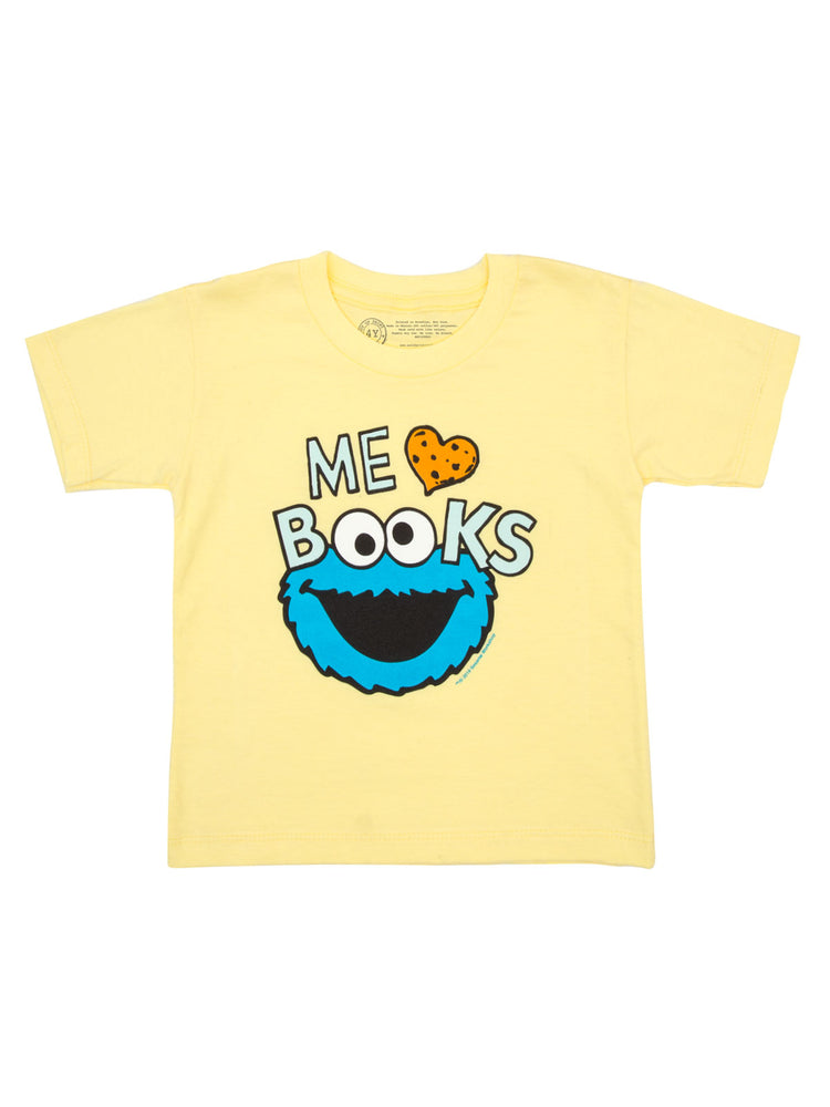 Kids' Me Love Books Cookie Monster T-Shirt