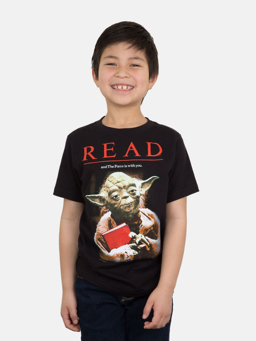 Kids' Star Wars Yoda READ T-Shirt