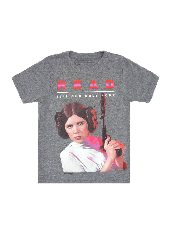 Kids' Star Wars Princess Leia READ T-Shirt