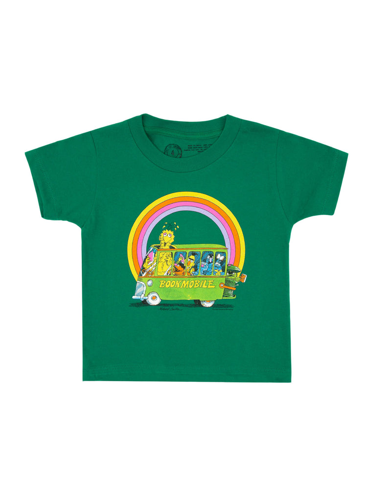 Kids' Sesame Street Bookmobile T-Shirt