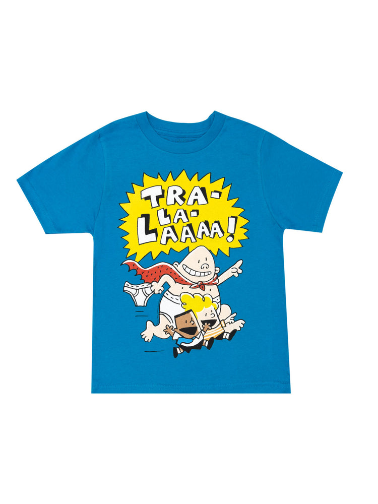 Kids' The Adventures of Captain Underpants T-Shirt