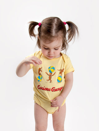 Baby Curious George bodysuit