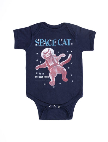 Baby Space Cat Baby Bodysuit