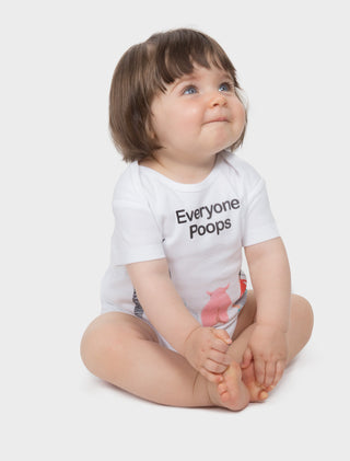 Baby Everyone Poops Bodysuit